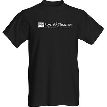 T-Shirt_MyPsychTeacherLogo_Transparent_COLOR_VistaPrint_BLACK_MEN_SmallView