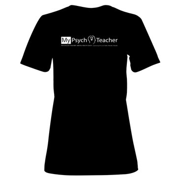 T-Shirt_MyPsychTeacherLogo_Transparent_COLOR_VistaPrint_BLACK_WOMEN_SmallView